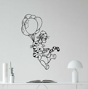 Details About Winnie The Pooh Wall Decal Tigger Vinyl Sticker Nursery Disney Home Decor 181crt