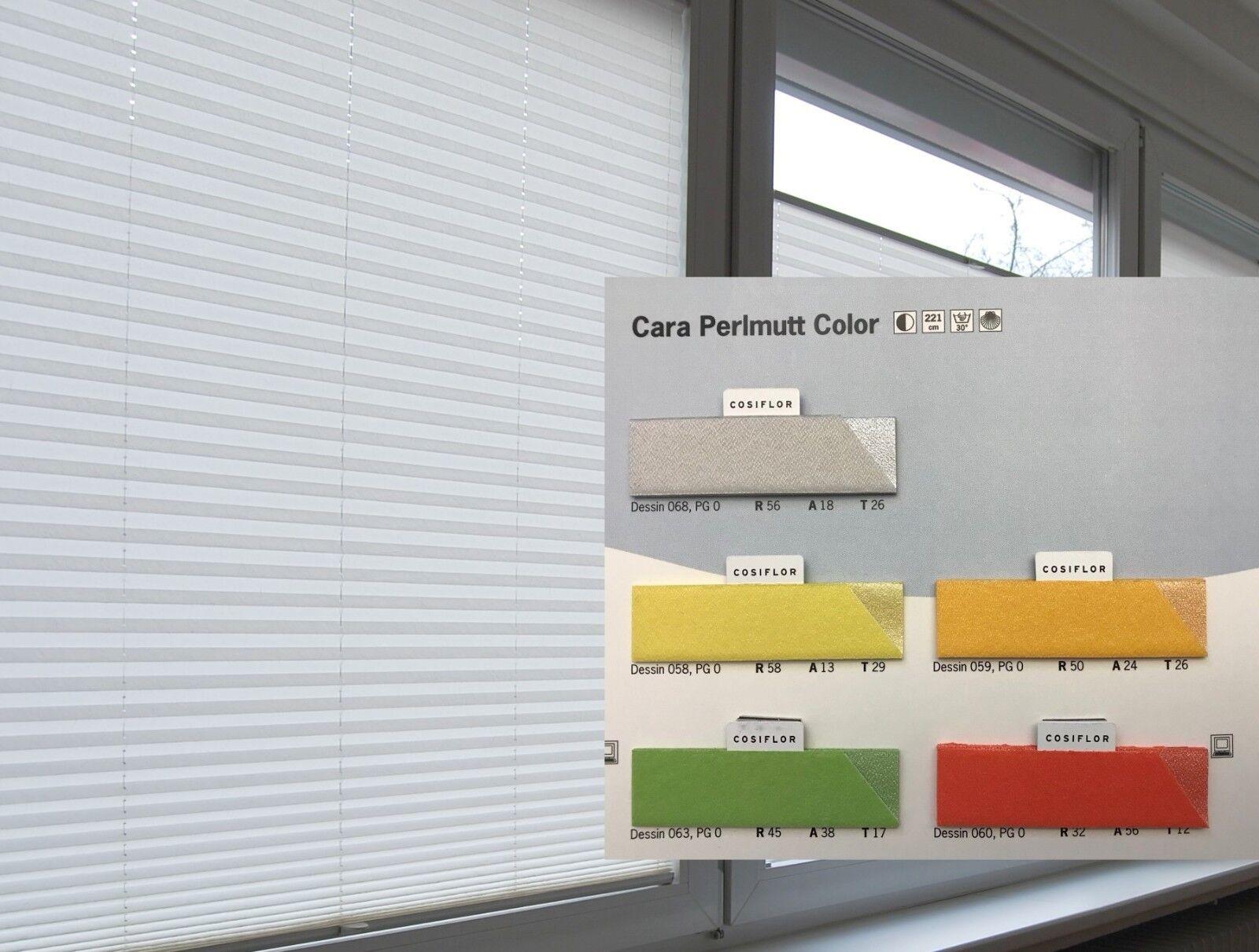 Cosiflor VS 2 Cara Perlmutt Sichtschutz Breite 30-120 Plissee Faltstore Jalousie | Auktion