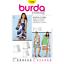 Burda Young Sleeveless Dress /& Tunic Dress Fabric Sewing Pattern 7390