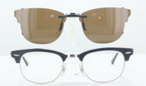 0e1868e2ddb 2 of 9 Custom Fit Polarized CLIP-ON Sunglasses For RAY-BAN RB5154 51X21-TAB  RB