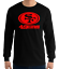 SAN-FRANCISCO-49ERS-BLACK-long-sleeve-T-Shirt-RED-Logo-Unisex-Adult-S-2XL thumbnail 1