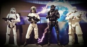 """Hasbro Star Wars Army Builder 3.75"""" Action Figure Lot A VC171 Stormtrooper AT-ST"""