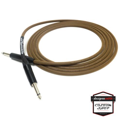 /'designacable Custom Shop/' Premium Braided Guitar Cable Van Damme /& Neutrik.