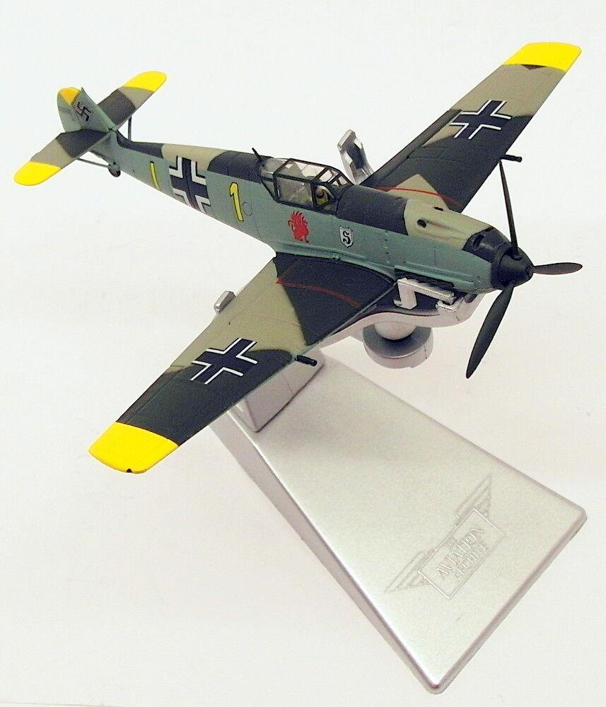 Corgi 1 72 Escala Modelo AA28004-Messerschmitt Bf109E-4 giallo 1  Oblt Schopfel