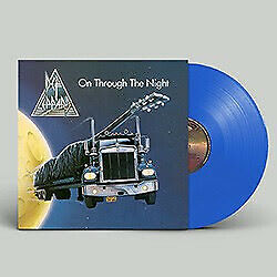 Def-Leppard-034-On-through-034-Blue-color-Vinyl-Very-Limited-release-Sealed