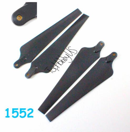 Ø3.0mm 1552 Carbon Fiber Foldable Propeller CW CCW Quad-Rotor DJI 2pairs 4pcs