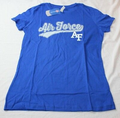 Vintage Royal NCAA Air Force Falcons Mens Tri Blend Short Sleeve Tee X-Large