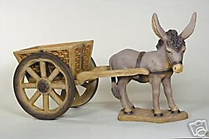Attirant Image Is Loading EXTRA LARGE DONKEY CART Animal Outdoor Garden Statue