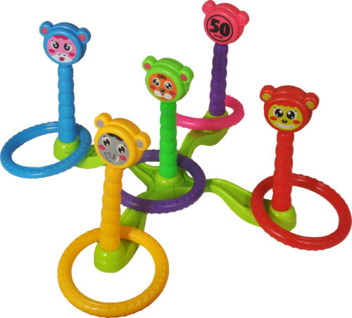 Free Delivery HJ101 Multicolor Kids Ring Toy Preschool Toy Set