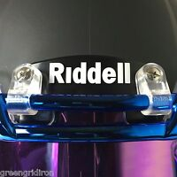 Riddell Hardware Set Of Helmet Clips - Speedflex, Hs4, 360, Speed, Revolution