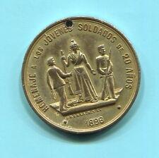 HOMENAJE A LOS JOVENES SOLDADOS - ANIVERSARIO PRIMERA CONSCRIPCION, 1896