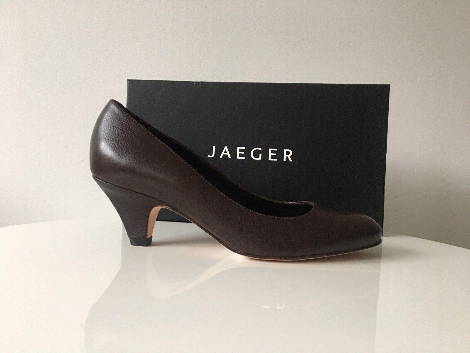 gli ultimi modelli Jaeger tutti in pelle pelle pelle Marronee tacco 2.5  FARETTI 4 UK PPR 99    negozi al dettaglio