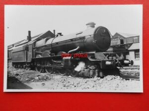 PHOTO-GWR-KING-CLASS-LOCO-NO-6027-KING-RICHARD-I-AT-OLD-OAK-COMMON-C1949
