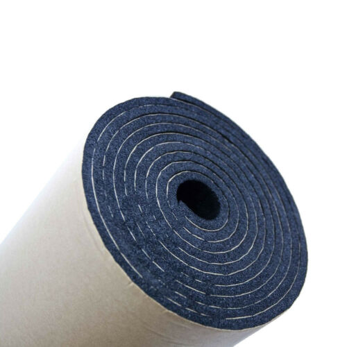 2Roll 7mm Car Sound Proofing Deadening Vehicle Insulation Closed Cell Foam XYZ