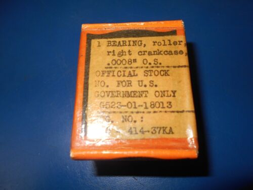 .0008 RIGHT SIDE CRANK CASE BEARINGS 24674-37 OEM HARLEY DAVIDSON 45 FLAT HEAD