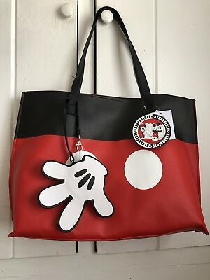 Disney Parks I Am Mickey Mouse Reversible Tote Bag New With Tags