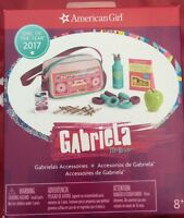 American Girl Gabriela's Accessories Gabriela Boombox Bag Apple Bottle