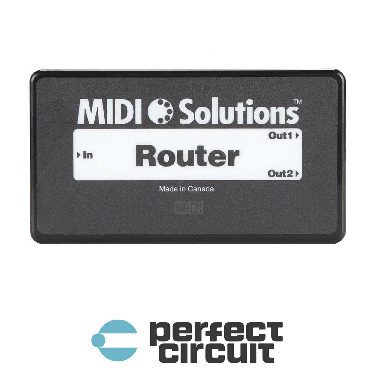 MIDI Solutions Router MIDI Data Filter INTERFACE - NEW - PERFECT CIRCUIT