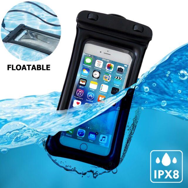 premium selection 312b7 40106 Universal Waterproof Cell Phone Pouch Floatable Dry Bag Case for iPhone  8/plus/x
