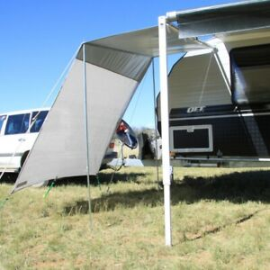 Caravan Bug Awning Shade Screen End Side Wall Roof ...