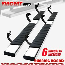 For 2009 2014 Ford F150 Super Crew Cab 6 Running Board Side Step Nerf Bar Ss H