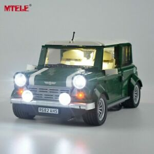 LED Light Up Kit Für LEGO 10242 Mini Cooper Creator Light Set Auto LEGO Licht