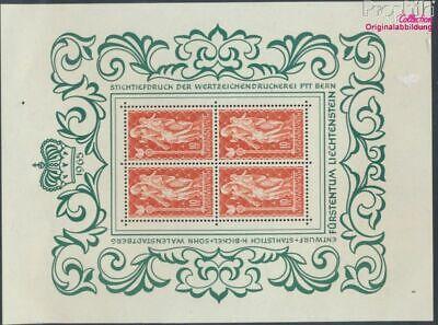 kompl.ausg. Herzhaft Liechtenstein 449klb Kleinbogen Postfrisch 1965 Madonna 9305229 Reinweiß Und LichtdurchläSsig