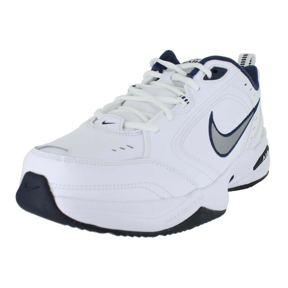 NIKE AIR MONARCH 4 MEDIUM WIDTH Blanc NAVY 415445-102 Homme US Taille