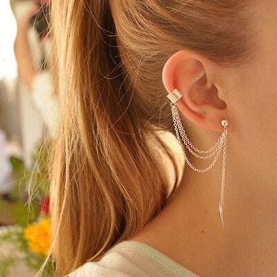 1 Paar Charm Schädel Edelstahl Ohrstecker mit Ohrstopper Silberfarbe