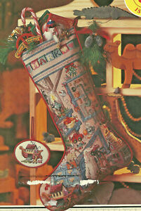 Christmas-Stockings-Cross-Stitch-Patterns-from-magazine-2-designs-Workshop