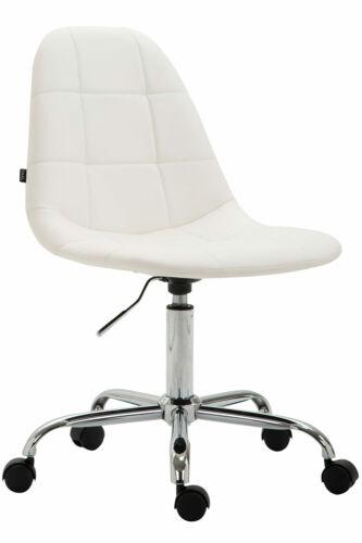 Bürostuhl Reims Kunstleder Drehstuhl Schreibtischstuhl weiß