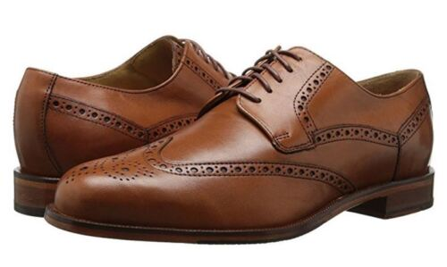 Cole Haan Mens Carter Grand Wingtip Lace Up Business Casual Oxfords Dress Shoes