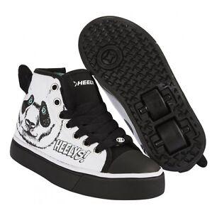heelys x2 zoo series roller shoes skate shoes panda ebay. Black Bedroom Furniture Sets. Home Design Ideas