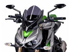 PUIG NAKED NEW GENERATION WINDSHIELD (DARK SMOKE) Fits: Kawasaki Z1000 7011F