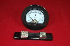 Dc 0 40a Round Analog Ammeter Panel Amp Current Meter Dia 90mm With Shunt
