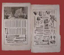 Ciseleur et Damasquineur Diderot et D'Alembert 1762 Cesellatore damaschinatore