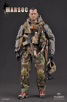 Flagset 1/6 MARSOC U.S. Marine Corps Special Operations Command Figure NEW
