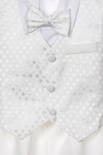 Infant Toddler Boys Christening Baptism Formal Vest Suit Outfits 0-24M 2T 3T 4T
