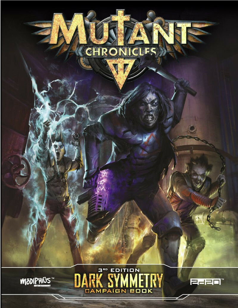 Mutante Chronicles 3°ed Rpg - Scuro Symmetry Campagna