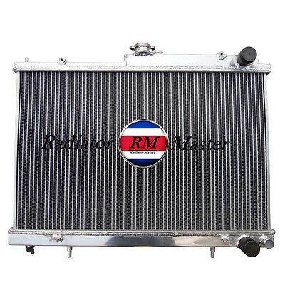 Aluminum  Radiator For 1994-1998 Nissan SKYLINE 2ROW   1995 1996 1997