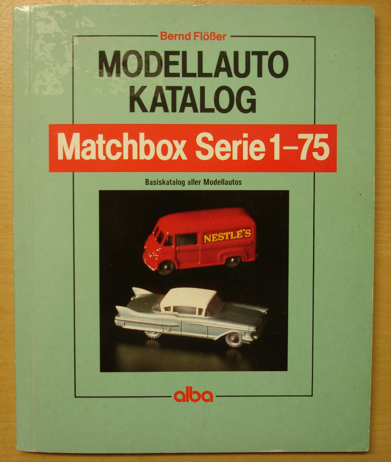 Maquette de Voiture-Catalogue Matchbox série 1-75 Modèles Voitures Catalogue livre