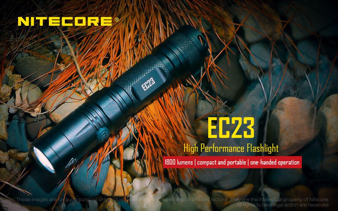 Combo  Nitecore EC23 Flashlight w 2x 2x 2x 3500mAh 10Amp 18650 190888