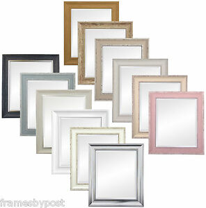 Scandi-Style-Mirrors-Range-of-Colours-Excellent-Quality-Plain-or-Bevelled-Mirror