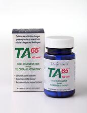 TA Sciences 6tk9zh1 Ta-65 Cell Rejuvenation 100 Units 30 Capsules Fight Aging