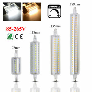 Dimmable r7s led diode lamp smd 2835 spotlight bulb 5w 10w for R7s led 118mm 20w