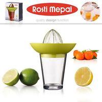 Rosti Mepal Zitrusgewächs Zitronen-presse Fruchtpresse Entsafter mit Glas