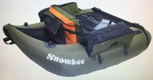 Ruder- & Paddelboote Bootsport Snowbee Boot Schlauchboot Classic Float Tube Kit Olive Einheitsgröße NP365