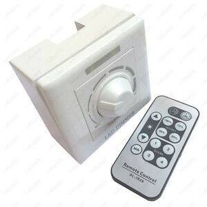 Image Is Loading 180w Ir Remote Control Led Light Scr Dimmer