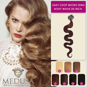 Medusa wavy body wave easy loop micro ring remy human hair image is loading medusa wavy body wave easy loop micro ring pmusecretfo Gallery