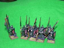Warhammer Dark Elf, Guerreros X9 Pintado
